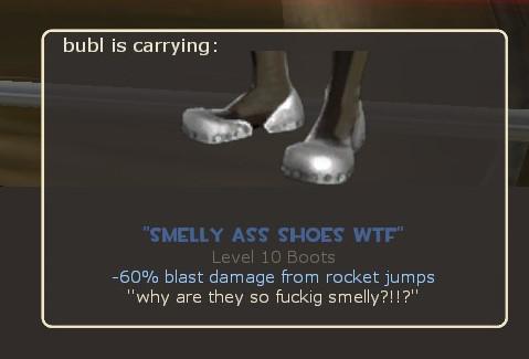 smelly ass shoes wtf